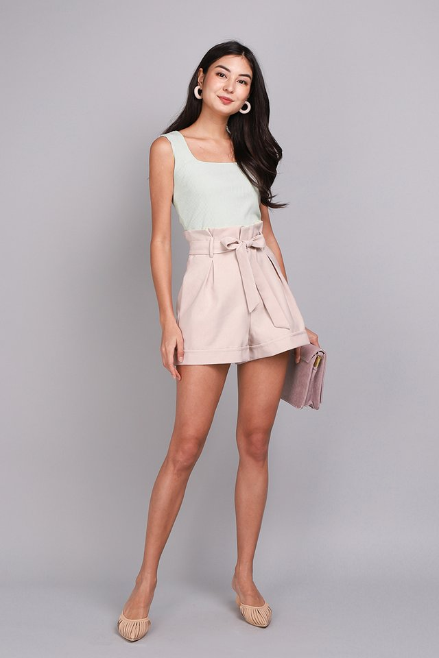 Thea Top In Mint