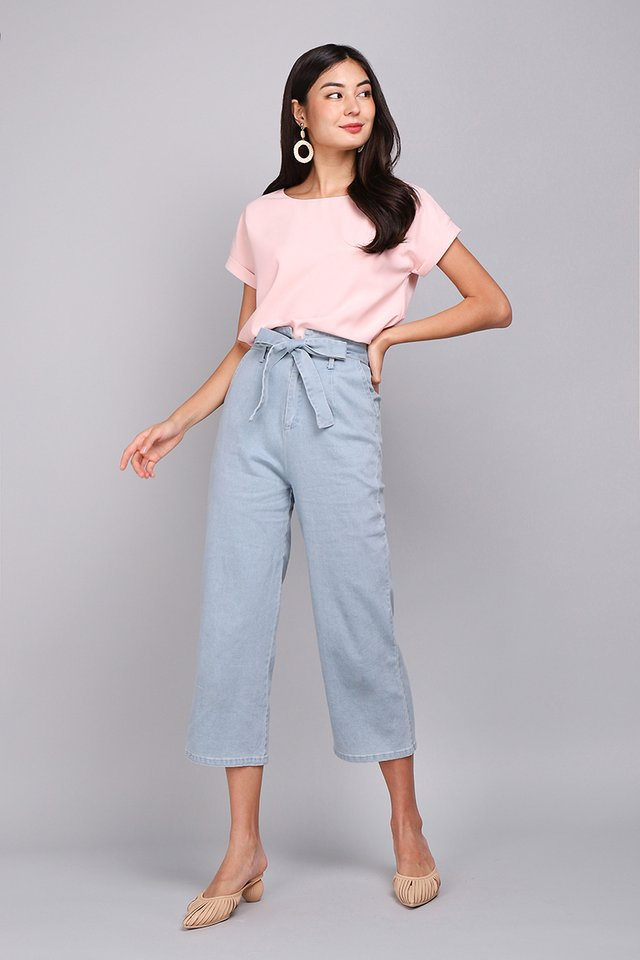 Ryan Top In Soft Pink