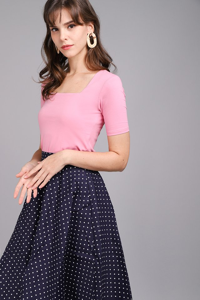 Carrie Top In Candy Pink