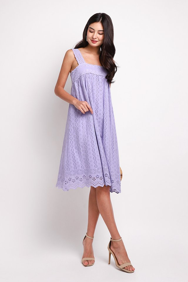 A True Romantic Dress In Soft Lilac