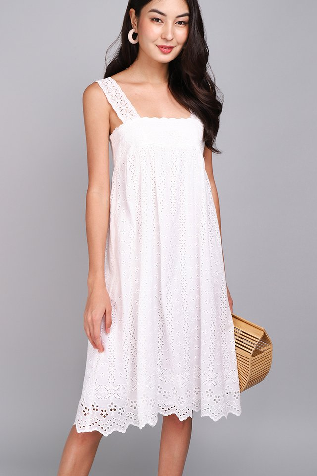 A True Romantic Dress In Classic White