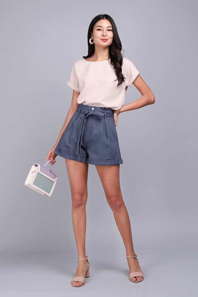 Julian Shorts In Muted Blue