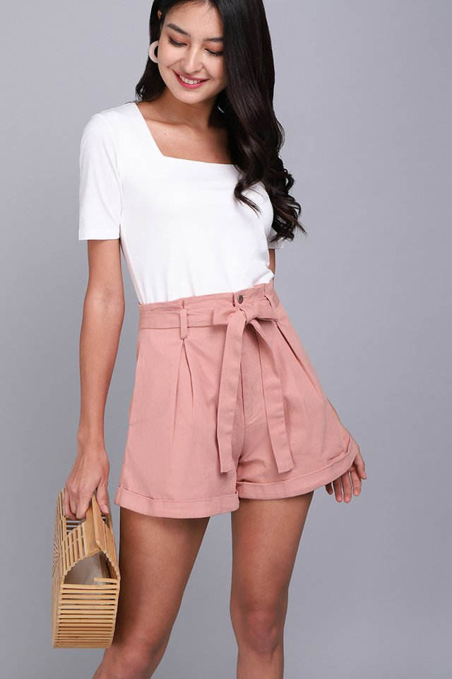 Julian Shorts In Dusty Pink