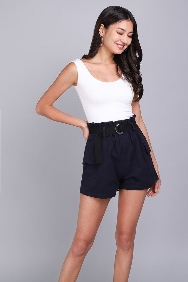 Mason Shorts In Navy Blue