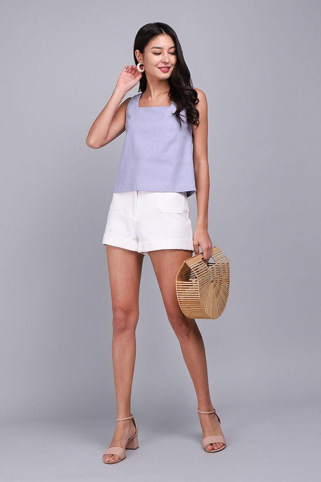 All Time Favourite Top In Periwinkle