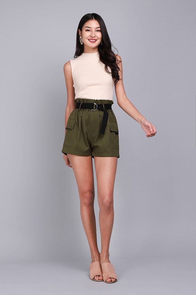 Mason Shorts In Olive Green