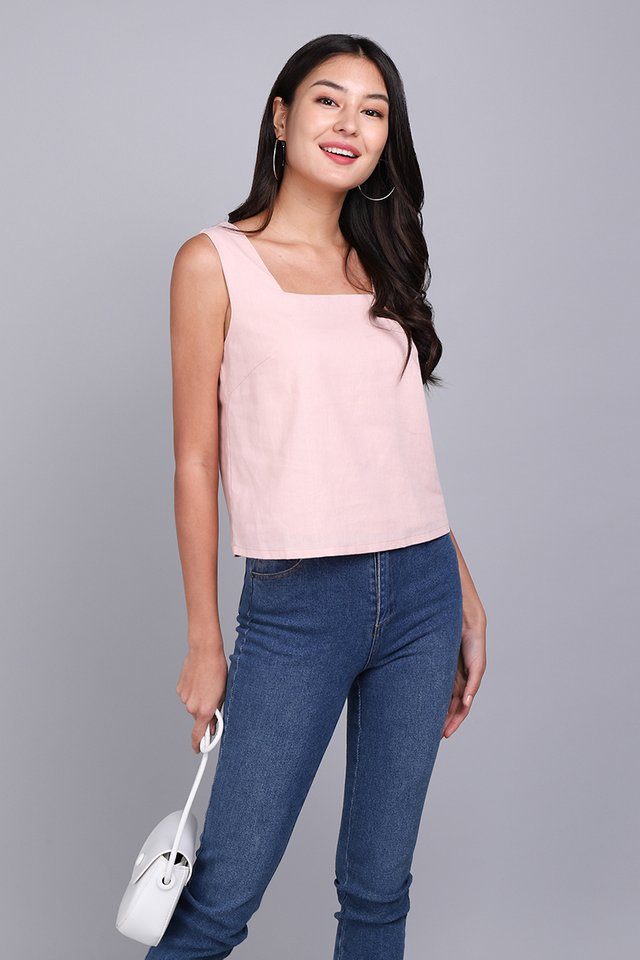 All Time Favourite Top In Dusty Pink