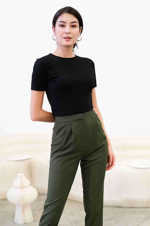 [BO] Andre Pants In Olive Green