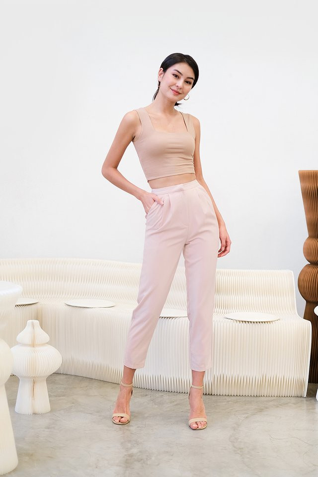 [BO] Andre Pants In Powder Pink
