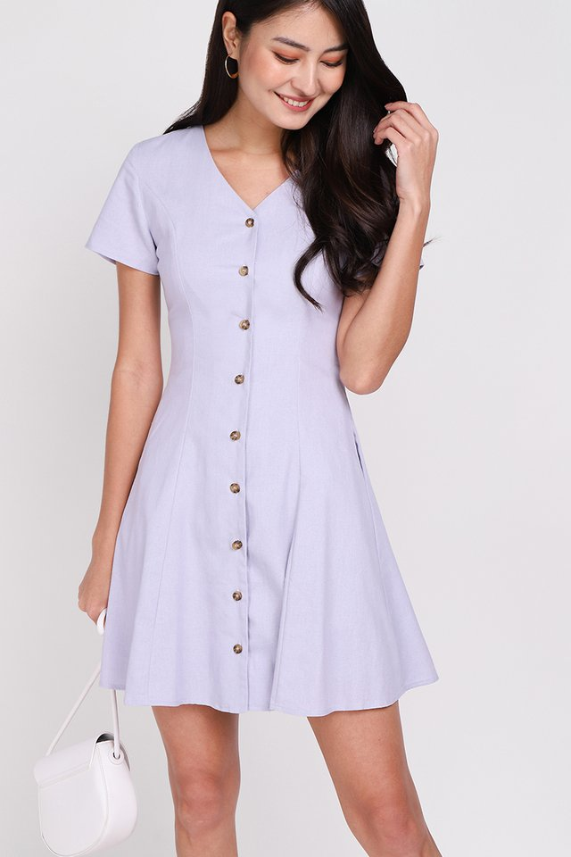 Little Italy Dress In Periwinkle