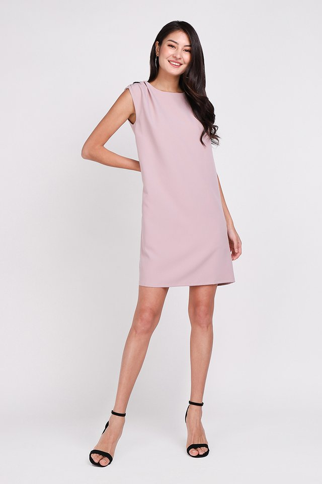 Street Cred Dress In Muted Lilac