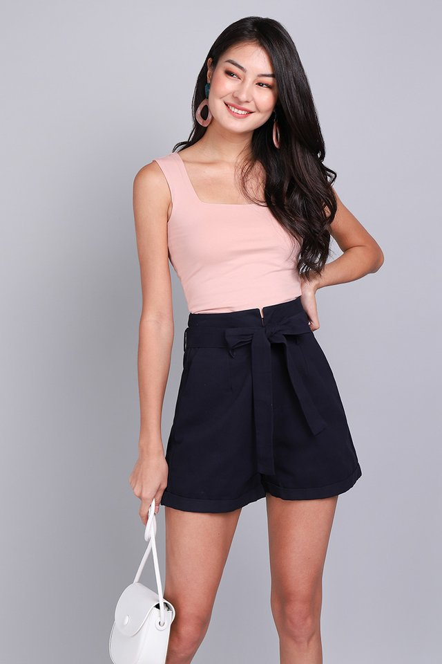 Cooper Shorts In Navy Blue