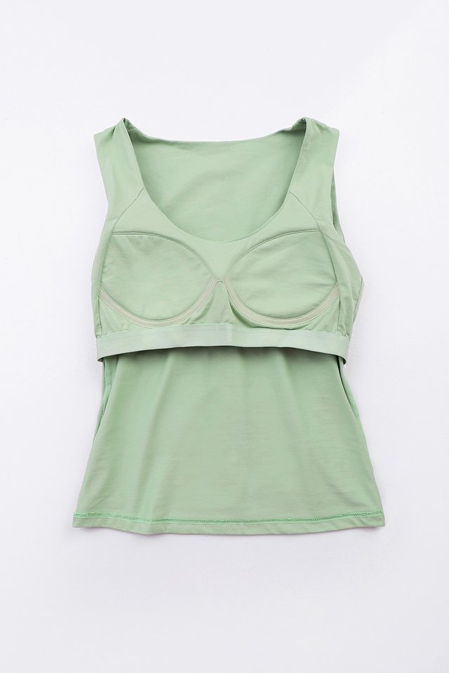 Kelly Bra Top In Pistachio