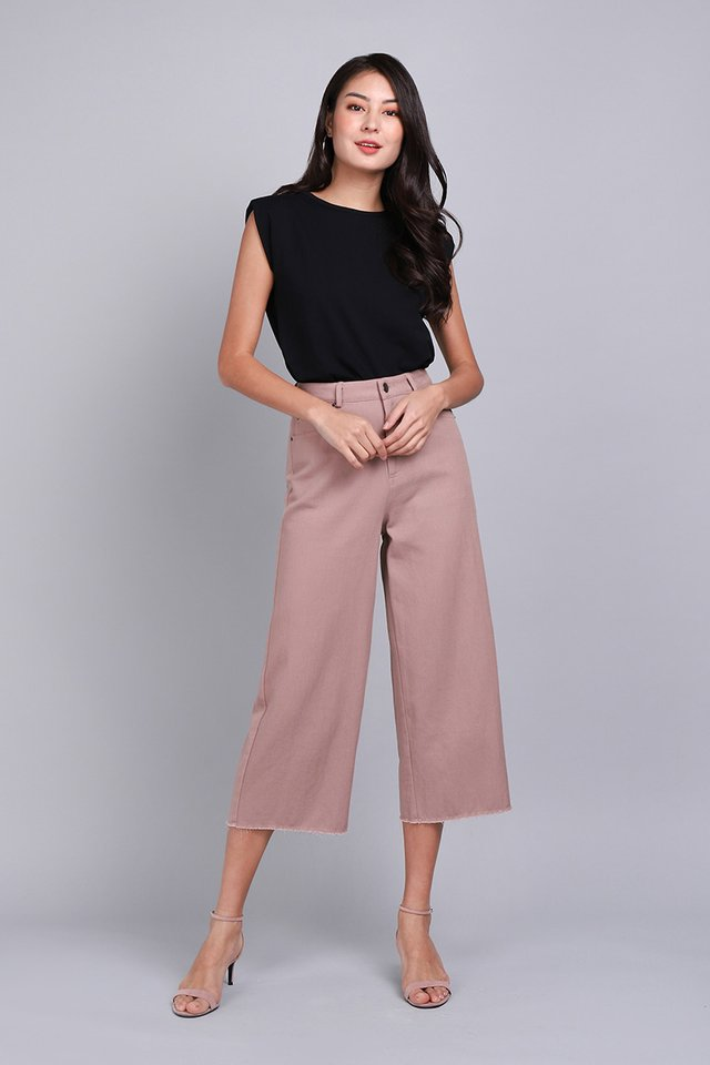 Kai Culottes In Rum Pink