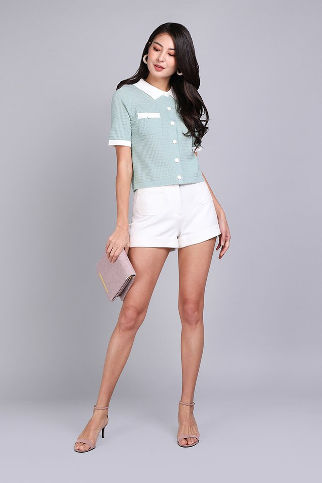 Refreshing Take Top In Mint