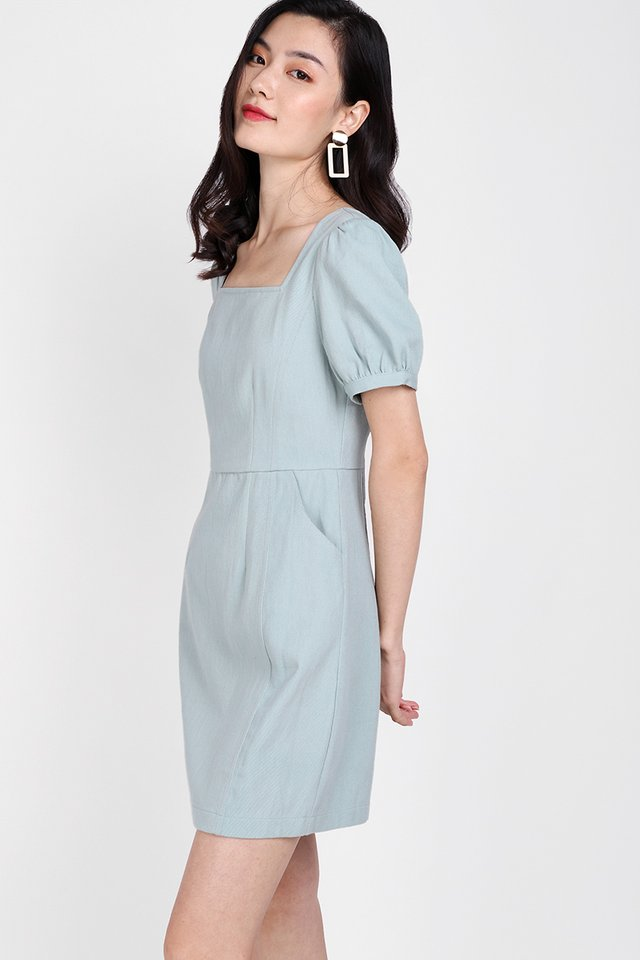 My One And Only Dress In Seafoam