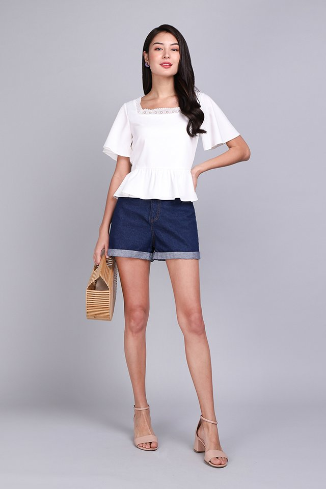 Favourite Novel Top In Classic White