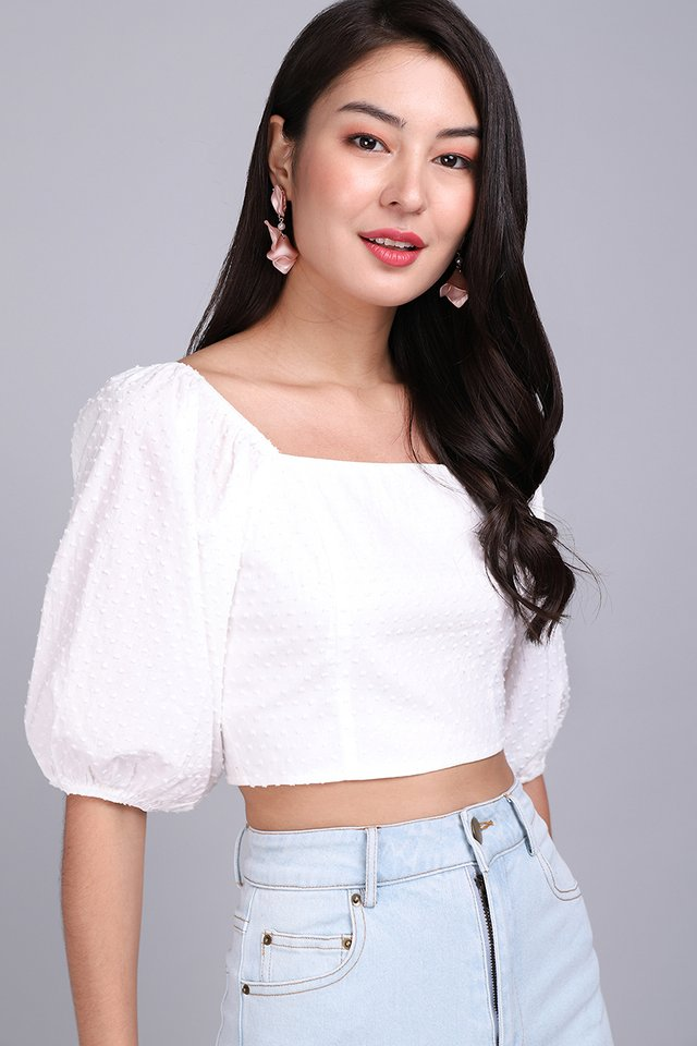 Summer Sightings Top In Classic White
