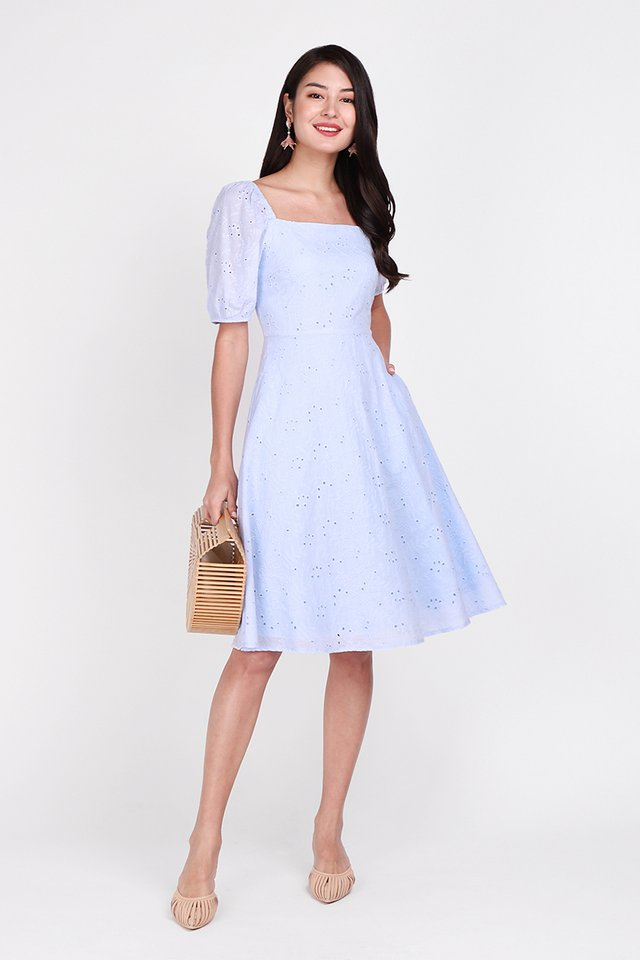 [BO] Home Sweet Home Dress In Periwinkle